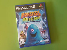 Monsters vs. Aliens Sony PlayStation 2 PS2 Game - Activision *NEW & SEALED*