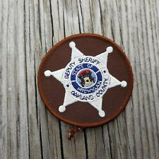 "Oakland County Michigan MI Deputy Sheriff 3"" Round Patch"