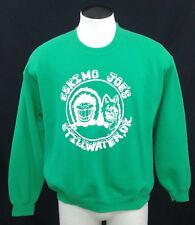 Eskimo Joes Green Crewneck Souvenir Sweatshirt L