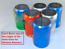 6 pack of 12 oz Beer Soda Can Covers, Hider Misc Brands & Color Sleeve Wrap Golf