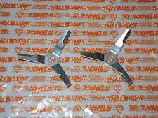 4229 Original Stihl 2 Stück Häckselmesser Messer für Saughäcksler SH 55 56 85 86