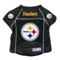 Pittsburgh Steelers NFL Little Earth V-Neck Pet Mesh Dog Jersey Sizes XS-XL
