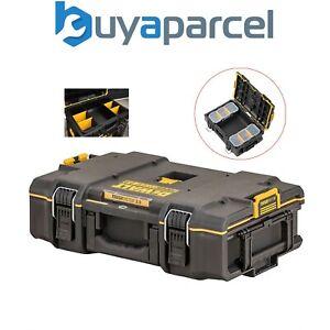 Dewalt Tough System 2.0 DWST83293-1 DS166 Stackable Toolbox Case + 2 Organisers