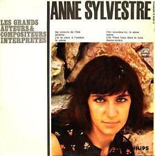 ANNE SYLVESTRE 33 TOURS 25CMS FRANCE LES GRANDS AUTEURS