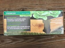 Panacea - Solid Steel Raised Garden Bed Corner Brackets