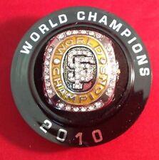 San Francisco Giants Fresno Grizzlies 2010 World Series Champions Replica Ring