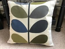 """DOUBLE SIDED PANELLED COVER USING AUTHENTIC ORLA KIELY FABRIC 16"""" x 16"""""""
