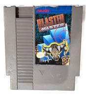 Blaster Master ORIGINAL NINTENDO NES GAME Tested + Working & Authentic!