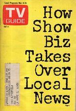1974 TV Guide March 9 - Shirley Jones; Snoop Sisters; Mario Andretti; Partridge
