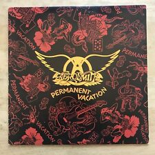 Aerosmith Permanent Vacation 1987 Vinyl LP Geffen Records GHS 24162