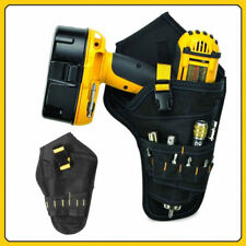 Heavy Dut Drill Holster Cordless Tool Holder y Belt Pouch Bag Pocket #WE9
