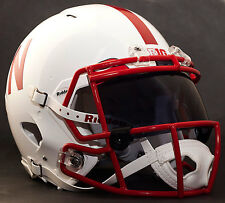 *CUSTOM* NEBRASKA CORNHUSKERS NCAA Riddell Speed AUTHENTIC Football Helmet