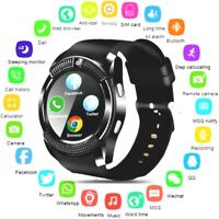 US Smart Watch Tactical Military Grade SMS Touch Sim Sports Pedometer Camera