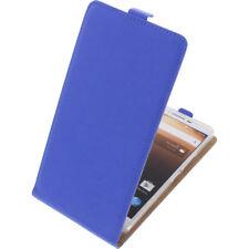 Funda para Alcatel A3 XL protectora Teléfono Móvil con Tapa Carcasa Azul