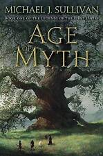 Age Of Myth by Michael J. Sullivan (Hardback, 2016)
