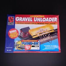 Life Like Trains Operating Gravel Unloader Gondola Car HO Scale Hobby Railroad