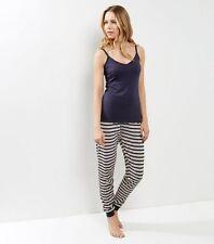 Navy Stripe Pyjama Set