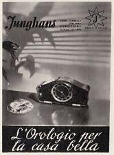 Z3831 JUNGHANS l'orologio per la casa bella - Pubblicità d'epoca - 1939 old ad