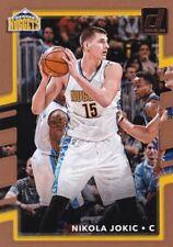 2017-18 Panini Donruss Basketball Trading Card #37 Nikola Jokic