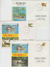 Ships, Boats Australian Victoria State Stamps