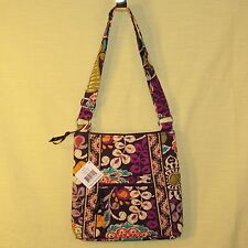 Vera Bradley - Hipster - Plum Crazy - Cross Body Bag / Purse Adjustable Strap
