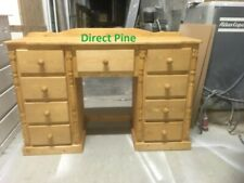PINE FURNITURE BUCKINGHAM 9 DRAWER DRESSING/ WRITING DESK