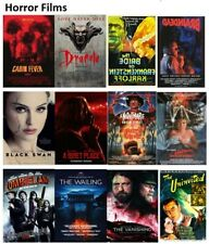 Horror films vintage and new print/posters poster movie classic