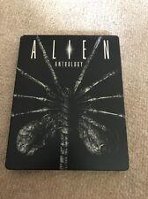 Alien Anthology Blu Ray Steelbook Play.com Sci Fi Ridley Scott 4 Movies Uk