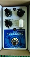 Pockecho Guitar Delay & Looper Effects Pedal with 8 Delay Effects