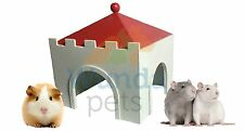 TRIXIE MY PRINCE SMALL ANIMAL GUINEA WOOD CASTLE CAGE HOUSE HIDE DEN 9961331