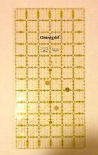 """1988 Omnigrid  12"""" X 6"""" Item #12 Quilting Tool Plastic"""