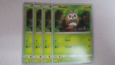 4x Rowlet (9/149)  -2017 World Championship- NM Pokemon Promo