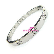 Ladies Magnetic Therapy Bracelet Health Bio Armband Cuff Wristband Bangle