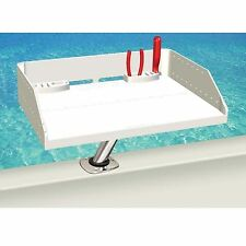 Magma Grills T10-421 Tournament Series Bait Fillet Table & Rod Holder Mount 20""