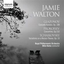 Glazunov, Prokofiev & Tchaikovsky: Conerto Ballata - Concertino - Variations on