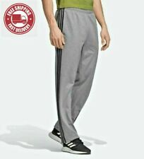 ADIDAS MEN'S ESSENTIALS 3 STRIPES TRICOT TRACK GYM  PANTS ~ Small  #EI9762 NWT