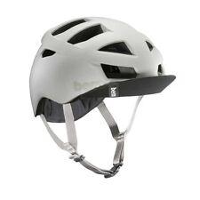 New Bern Allston Men Adult Bicycle Helmet w/ Visor MATTE SAND L/XL: 57-60.5cm