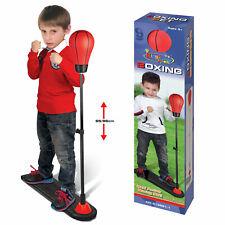 Kids Adjustable Punch Bag Ball Boxing Training Kit Free Standing Fitness Gift