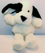 "Fordlet 1995 Puppy Dog Plush Stuffed Puppy Dog 14"" Beagle? white and Black"