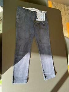 Mens Polo Ralph Lauren Stretch Slim Fit Cords, Navy. 36w x 32L Excellent Conditi