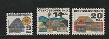 1971 Czechoslovakia Architecture Sg1845,47/8 MNH High CV