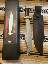 """Down Under Knives """"The Mistress"""" 13"""" Bowie Hunting Survival Knife W/sheath & Box"""