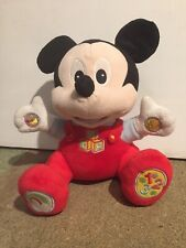 Micky Mouse Disney Talking Teddy Excellent Condition