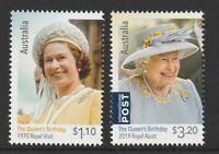 Australia 2020 : The Queen's Birthday. Design set. Mint Never Hinged
