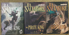 Forgotten Realms Transitions Complete 3 HC Lot ~ 1st Ed. R A Salvatore Free Ship