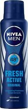 Nivea Fresh Active Original Deodorant BODY Spray For Men 150 ml