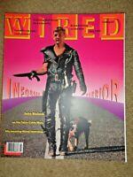 Wired Magazine July 1994 David Byrne TCI John Malone NSA Jay Chiat /Day Ads Sato