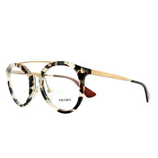 Prada Glasses Frames PR15TV UAO1O1 White Havana 50mm Womens