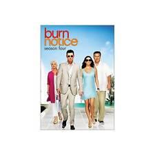 Burn Notice Complete Season 4 Region 1 DVD