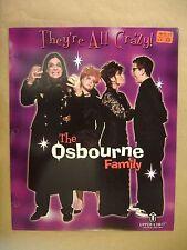 The Osbournes Ozzy Sharon Kelly Jack Osbourne Family Folder 3 Hole Punched